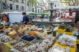 Lördagsmarknad i Uzès